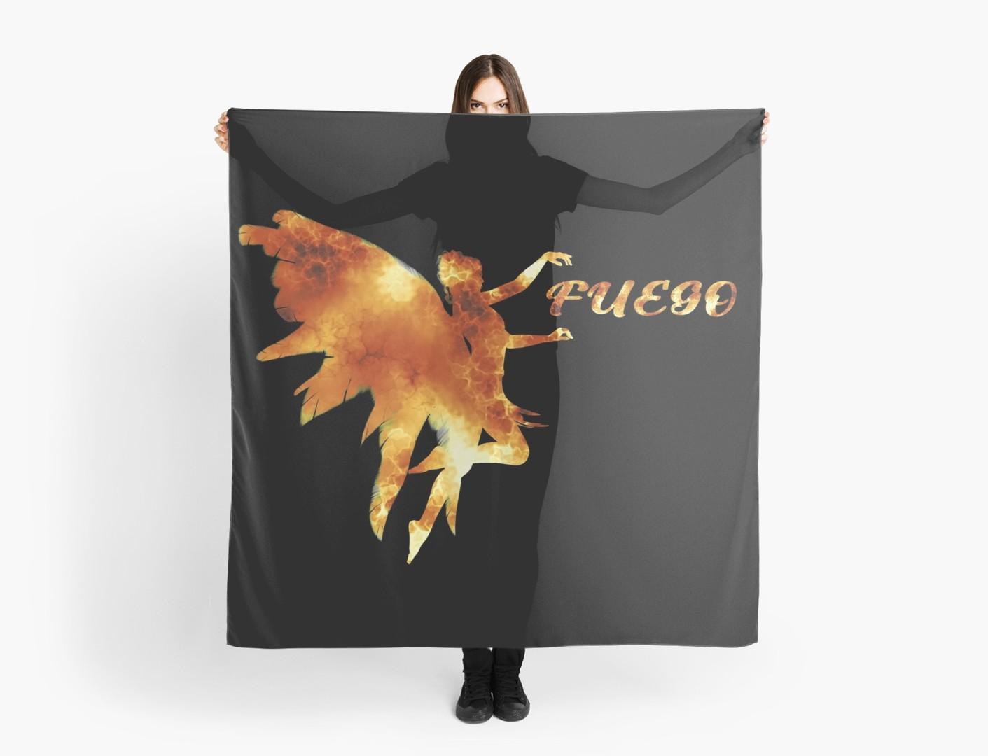 Fuego Scarf המדריך לאירוויזיון 2018