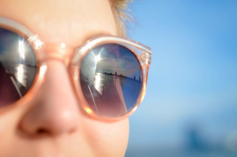 שבוע המודעות לסרטן העור - משקפי שמש
